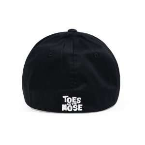 Toes on the Nose Flex Fit Hat in Black